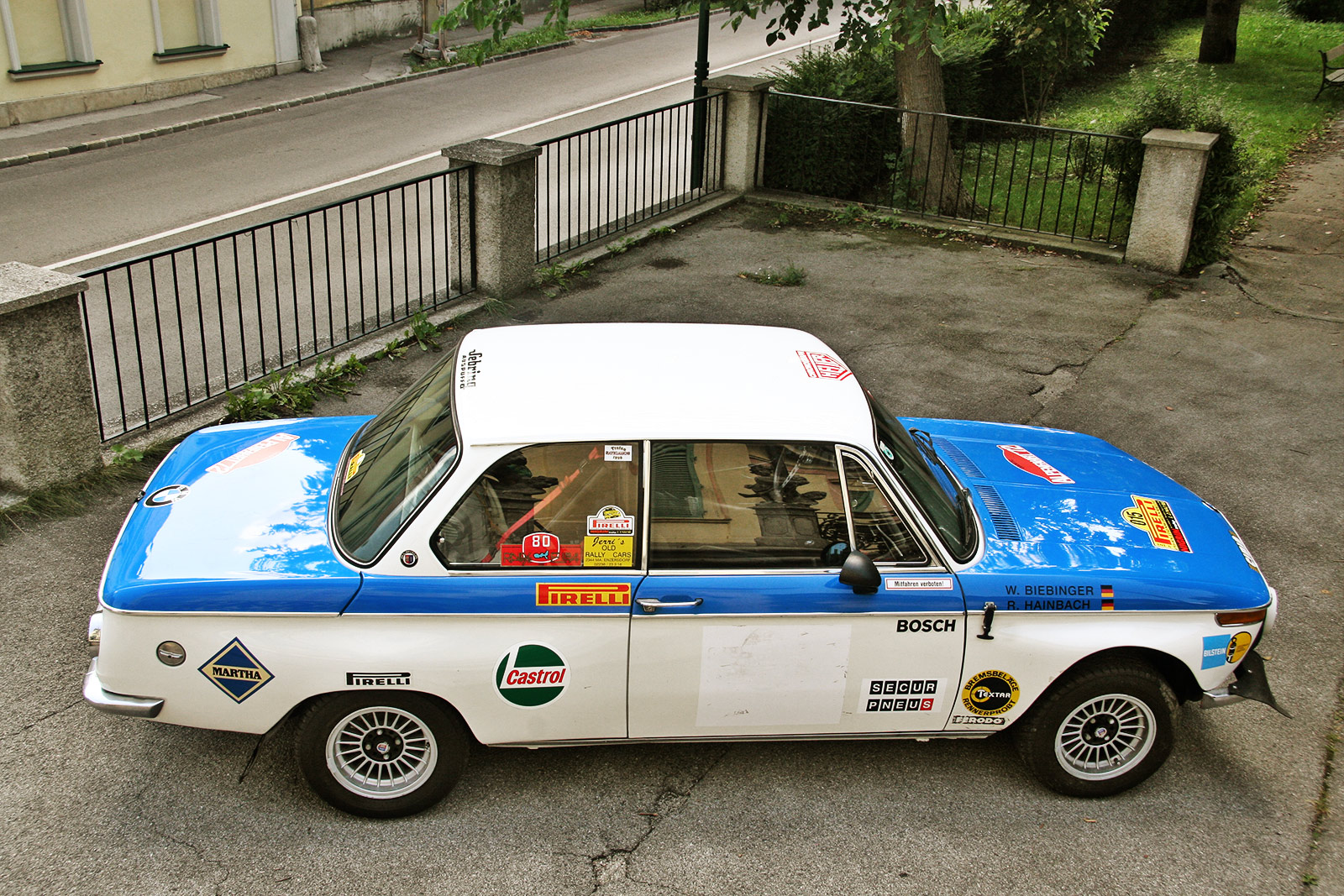 Bmw 2002 Ti The Schwab Collection Vintage Rally Cars