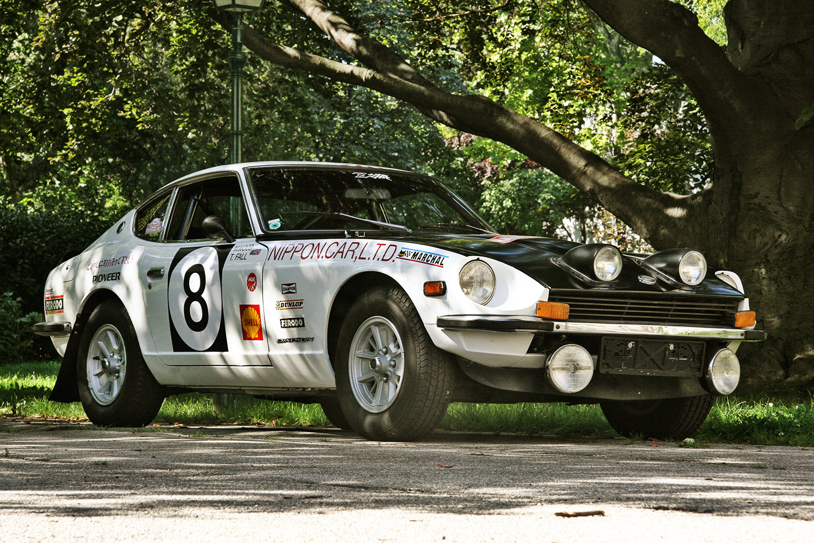 the schwab collection - vintage rally cars