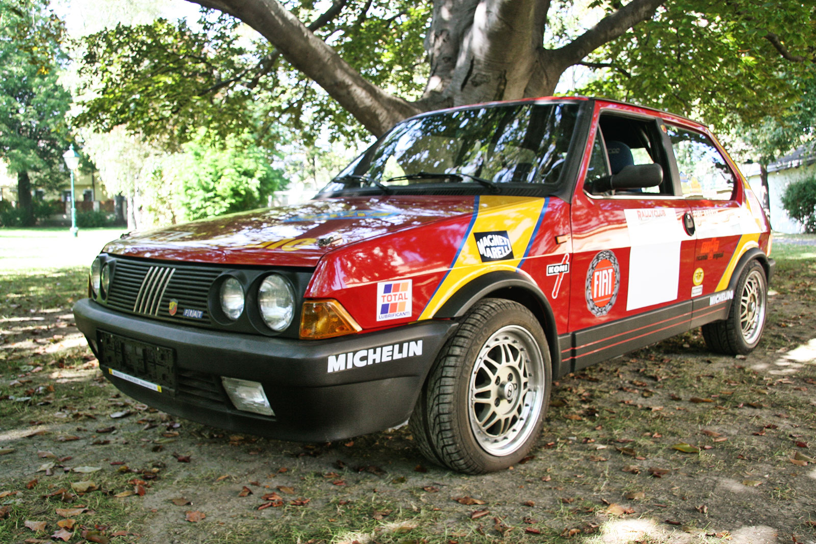 fiat ritmo 130 tc abarth the schwab collection vintage rally cars. Black Bedroom Furniture Sets. Home Design Ideas