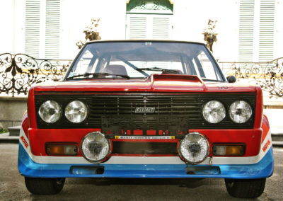 Fiat 131 Abarth - the schwab collection