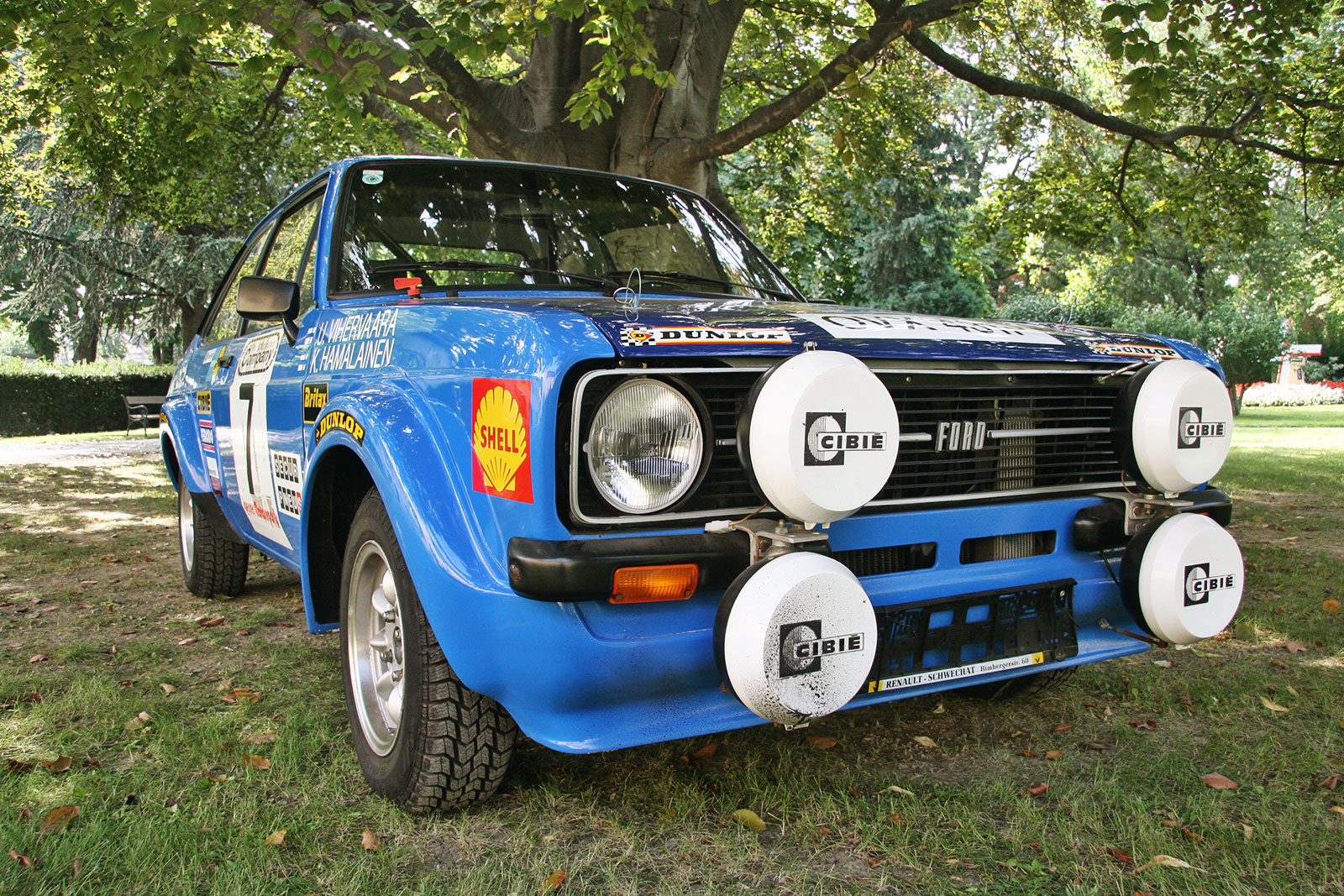 Ford Escort MK2 2000 RS - the schwab collection - vintage rally cars