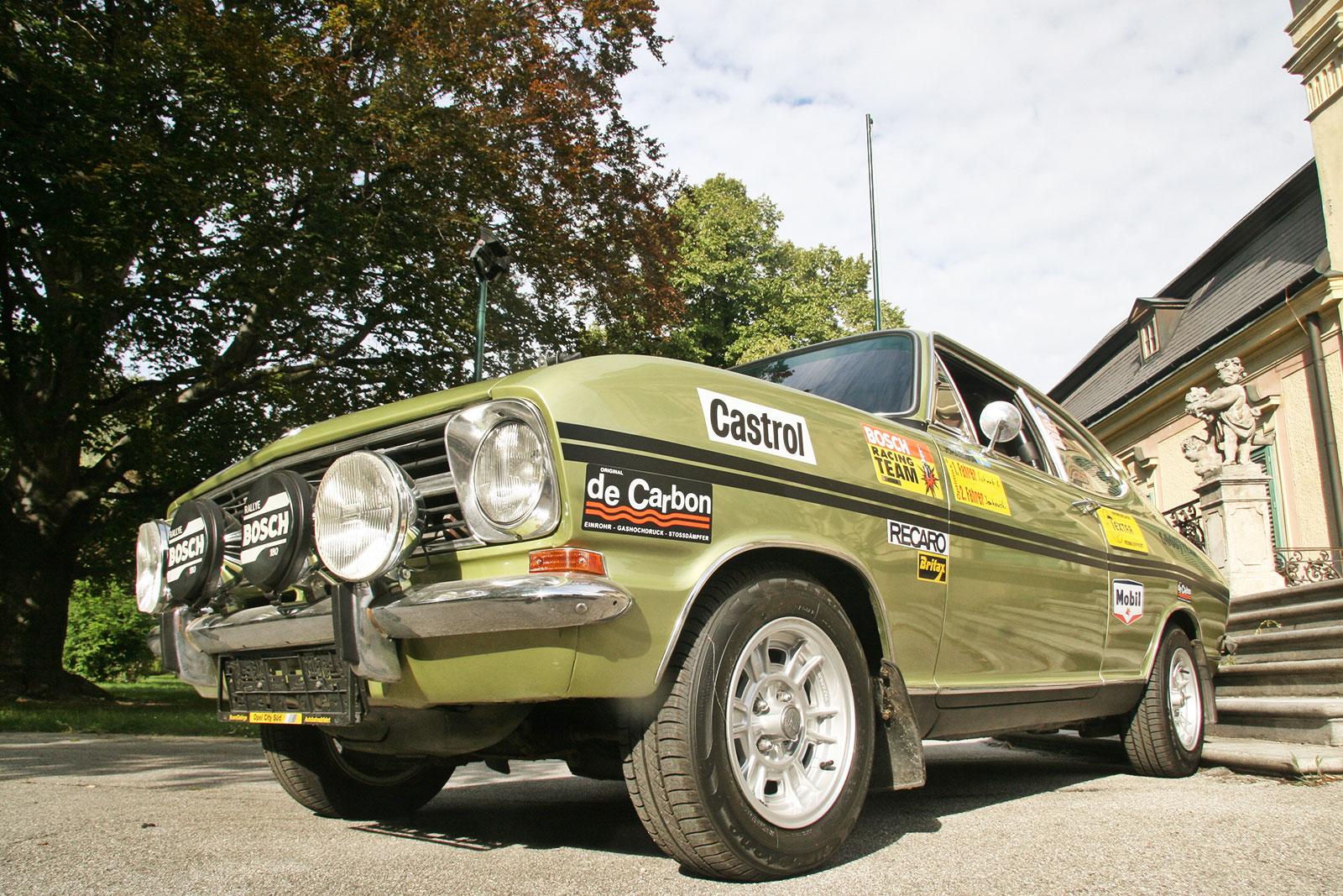 Opel Kadett B The Schwab Collection Vintage Rally Cars