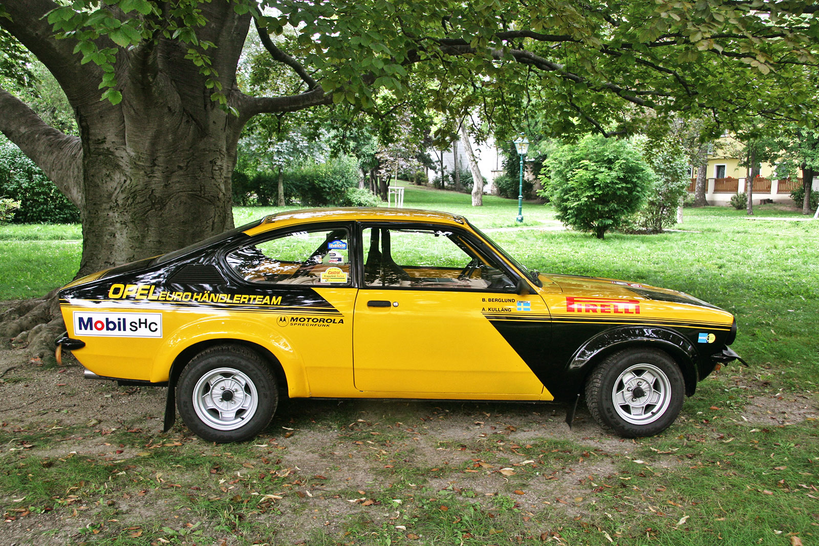 opel kadett c gt e the schwab collection vintage rally. Black Bedroom Furniture Sets. Home Design Ideas